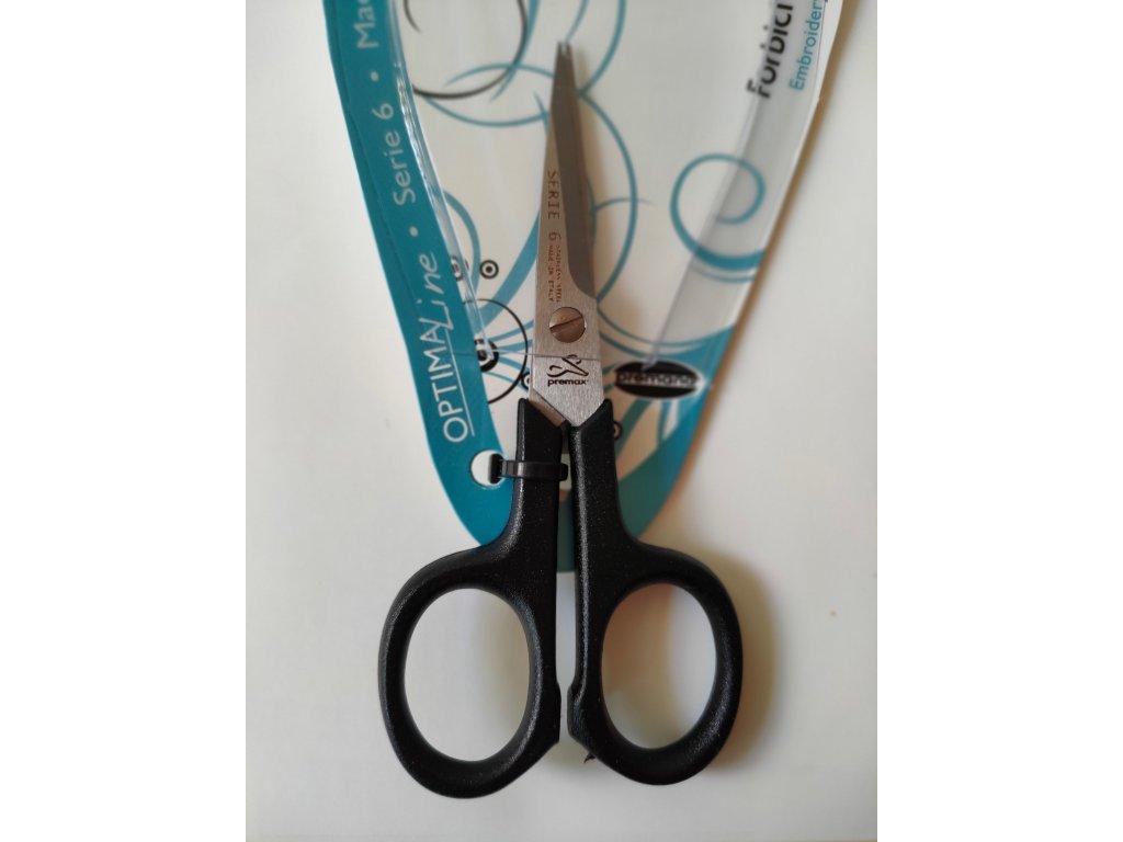 Nůžky vyšívací PH rukojeť, 10,5 cm