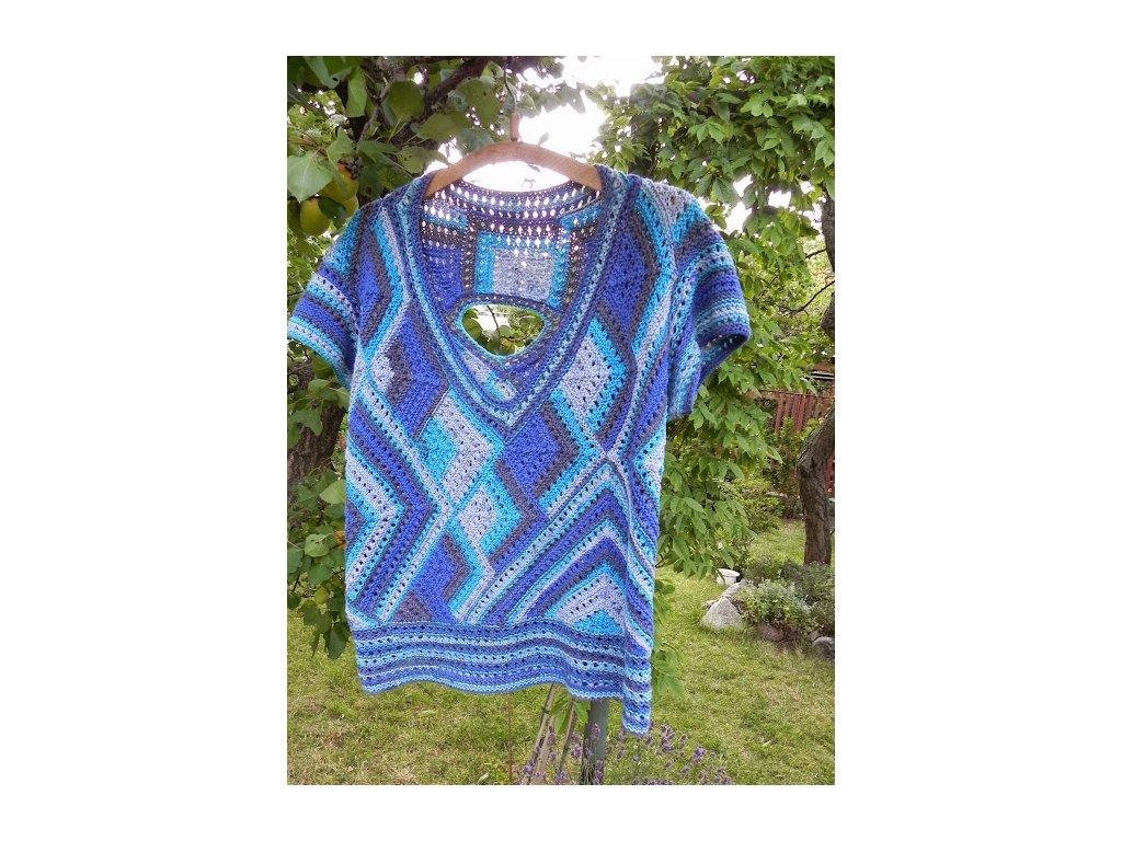 7425caac5633 Návod na pletený svetřík