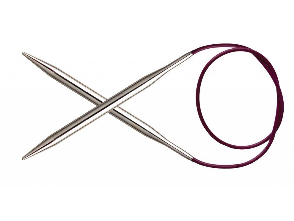 Jehlice kruhové Knit Pro Nova Metal 8,00mm různé délky lanka