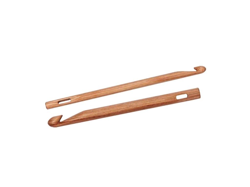 Háček Knit Pro Knooking Wood různé velikost