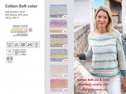 3612 cotton soft color poster