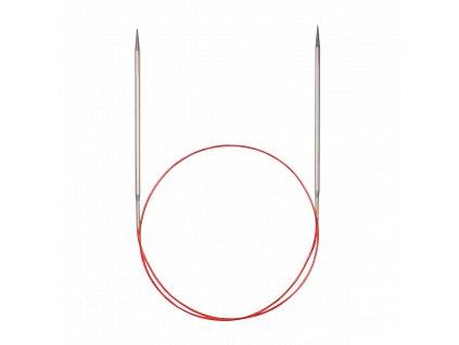 Jehlice kruhové Addi Premium Silber 6,00mm různé délky lanka