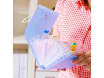 PVC obal na ukládání jehlic 18 x 11,5 cm