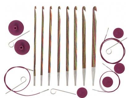 Tuniský háček dřevěný Symfonia šroubovací různé velikosti