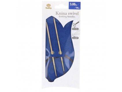 Tulip Knina Swivel kruhové jehlice 100cm různé velikosti
