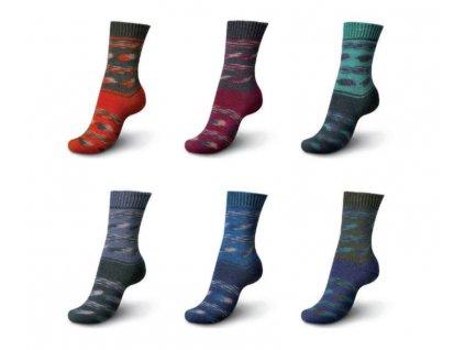 Schachenmayr Regia Pairfect Cloud Color ponožková příze 100g