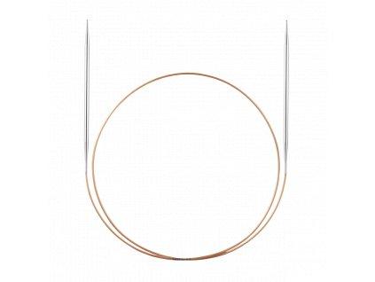 Jehlice kruhové Addi Premium Silber 3,75mm různé délky