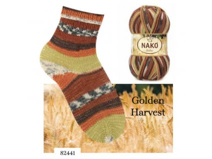Příze NAKO Boho ponožková 82441, 100g