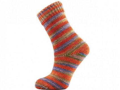 Příze ICE yarns Hand Dyed Sock Merino 68868