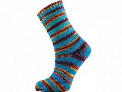 Příze ICE yarns Hand Dyed Sock Merino 68866