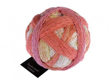 Zauberball® Cotton 2441_ Frühlingsanfang 100% Bavlna (Organic) 100g