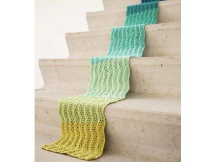 Příze Durable Colour Cake duhové klubko více odstínů, 250g (Barva 6016Soft Ice Cake)