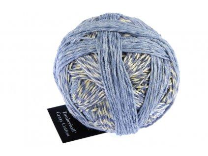 Schoppel-wolle Zauberball®Crazy Cotton 2440_ Feldversuch 100% bavlna Organic, řecký výrobek), 100g