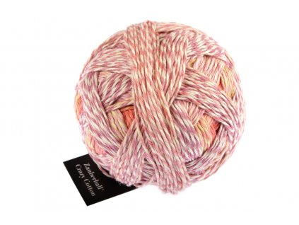 Schoppel-wolle Zauberball®Crazy Cotton 2441_ Frühlingsanfang 100% bavlna Organic, řecký výrobek), 100g