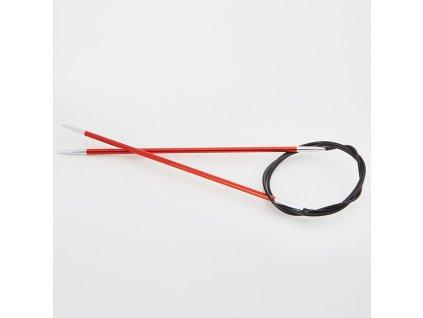 Jehlice kruhové Knit Pro Zing Alu 2,75mm různé délky lanka