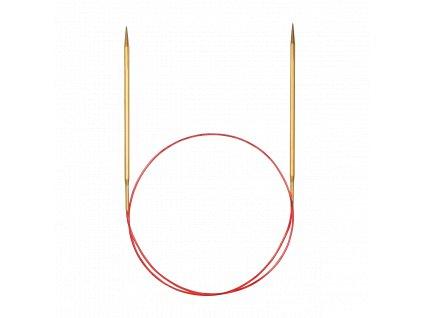 Jehlice kruhové Addi Premium Gold 4,50mm/100cm