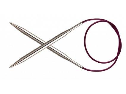 Jehlice kruhové Knit Pro Nova Metal 4,50mm různé délky lanka