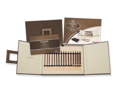 Knit Pro Rose set kruhových šroubovacích jehlic v dárkové kazetě