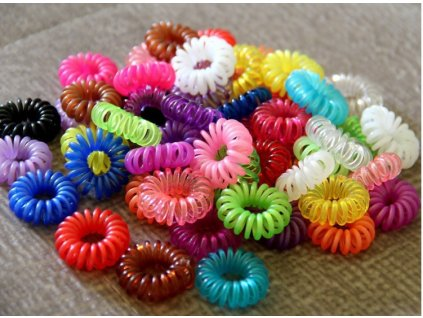 100pcs Lot Candy Color Telephone Cord Headband Girl s Hair Ties Head band Hair Strap Hair
