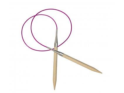 Jehlice kruhové Knit Pro Basix  dřevo 3,00 různé délky lanka