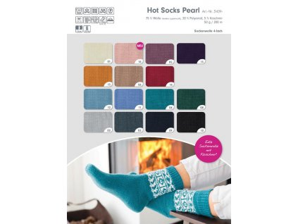 BsWs Gruendl Wolle HotSocks Pearl Katalogbild
