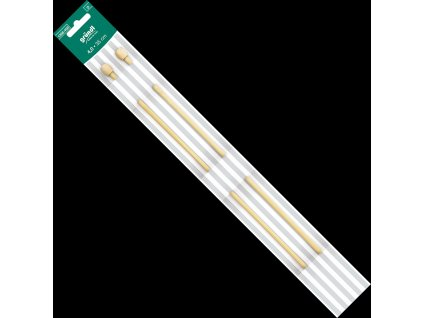 1358 400 jehlice klasicke dlouhe grundl bambus 35cm