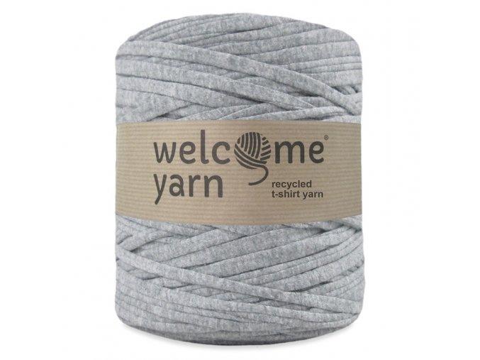 Špagáty Welcome yarn světle šedá