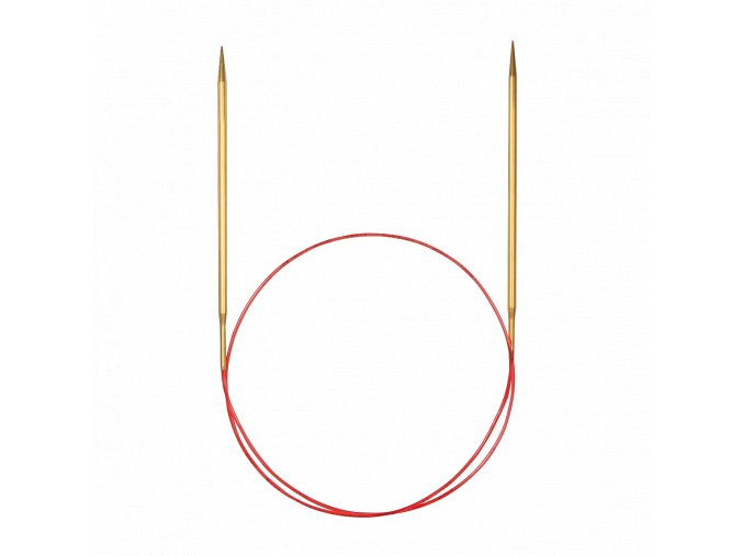 Jehlice kruhové Addi Premium Gold 2,00mm/120cm
