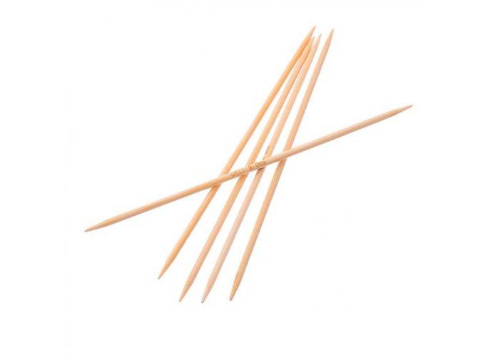 Jehlice ponožkové bambus 13cm/3,75mm 5ks -