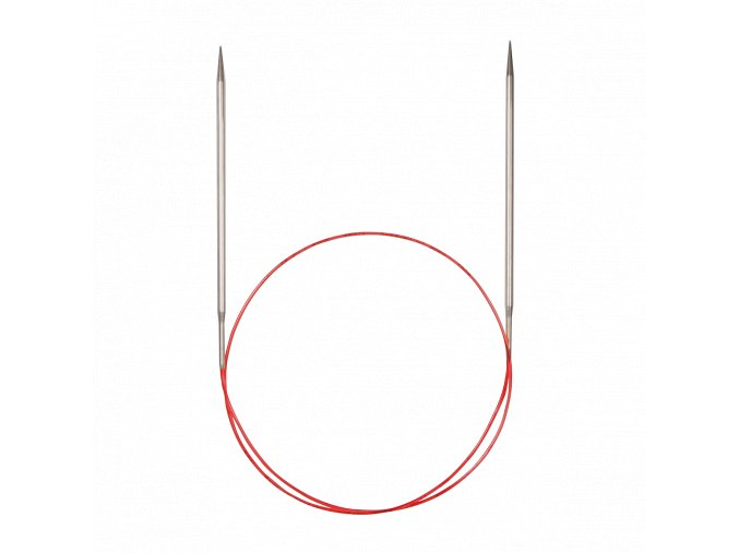 Jehlice kruhové Addi Premium Silber 4,00mm různé délky