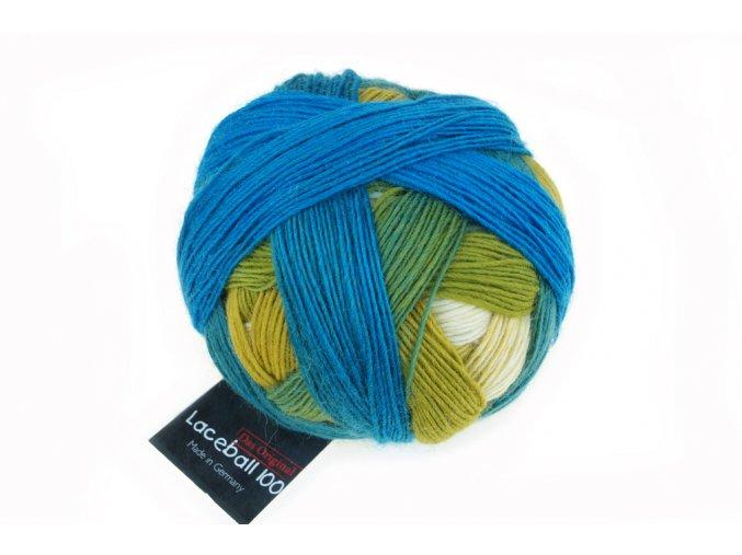 Lace Ball 100 2309_ Blaue Lagune 100% merino
