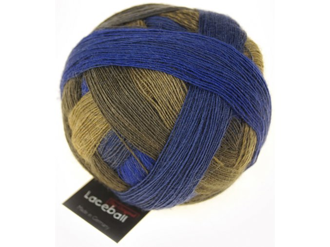 Lace Ball 2259_ Seltene Erde 75% merino, 25% polyamid krajková příze