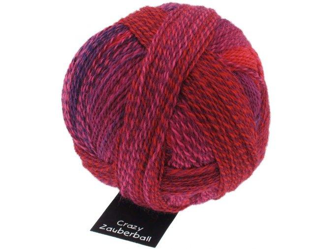 Zauberball®Stärke 6 2095_ Indisch Rosa 75% vlna, 25% polyamid ponožková příze