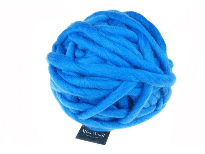 Příze Miss Wool 4201 marine 100% merino 500g