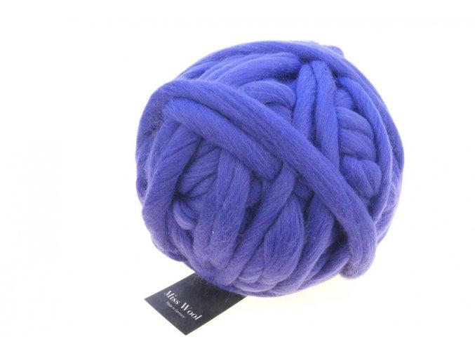 Příze Miss Wool 3683 Amethyst 100% merino 500g