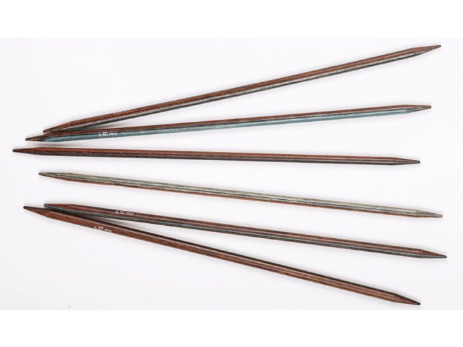 Jehlice Drops Pro Romance ponožkové bříza 4,50mm/20cm, 5ks v balení