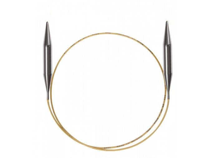 Jehlice kruhové Addi Premium Gold 12,00mm/100cm