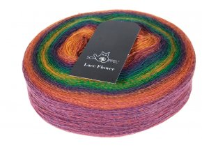 Schoppel-wolle Lace Flower 1505 Kunterbunt 100% merino superwash