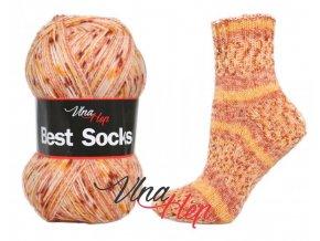 Ponožková příze Vlna-Hep Best Sock 7110, 75% vlna, 25% polyamid, 100g