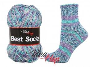 Ponožková příze Vlna-Hep Best Sock 7111, 75% vlna, 25% polyamid, 100g
