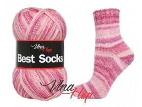 Ponožková příze Vlna-Hep Best Sock 7113, 75% vlna, 25% polyamid, 100g