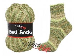 Ponožková příze Vlna-Hep Best Sock 7118, 75% vlna, 25% polyamid, 100g
