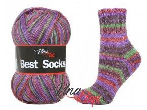 Ponožková příze Vlna-Hep Best Sock 7119, 75% vlna, 25% polyamid, 100g