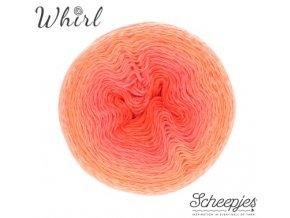 Příze Scheepjes Whirl 557 Coral Catastrophe 215g
