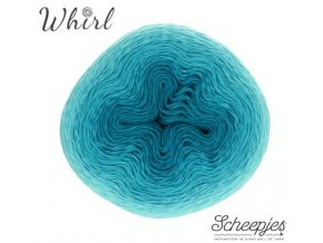 Příze Scheepjes Whirl 559 Turquoise Turntable 215g