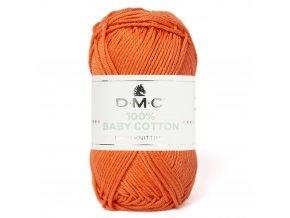 Příze DMC Baby Cotton 753, 100% bavlna, 50g