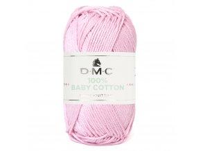 Příze DMC Baby Cotton 760, 100% bavlna, 50g