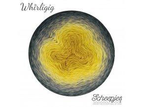 Scheepjes Whirligig, 200 GREY TO OCHRE, 1x450g