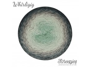 Scheepjes Whirligig, 202 GREY TO BLUE, 1x450g