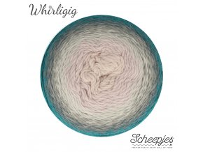 Scheepjes Whirligig, 204 TEAL TO LAVENDER, 1x450g